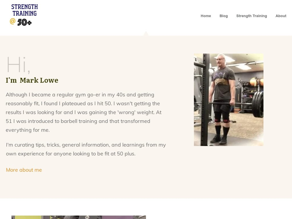 Mark Lowe Lifts Blog - WordPress