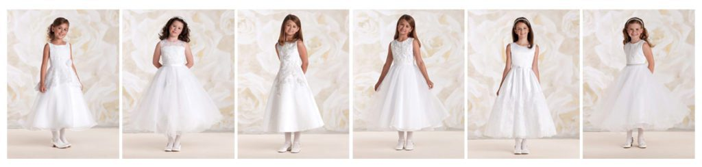 Styles of First Communion Dresses
