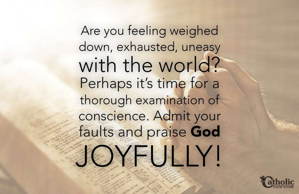 Admit Faults Praise God Joyfully
