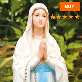 Our Lady of Lourdes Statue 26.5""